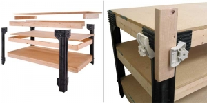 2x4 Basics diy workbench Kit