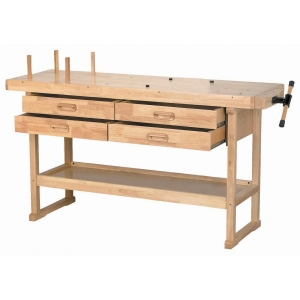 best workbench Windsor Design Workbench with 4 Drawers, 60 Hardwood