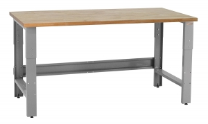 Roosevelt Workbench With 1.75-inch Solid Oiled Maple
