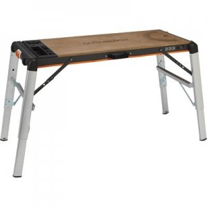 10. X-Tra Hand 2-in-1 Portable Workbench/Platform, 500-Lb. Capacity
