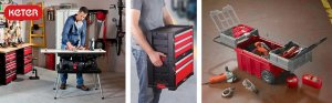 Keter adjustable best portable workbench- Adjustable work station