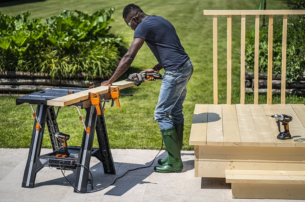 best WORX Pegasus Multi-Function Work Table and Sawhorse reviews