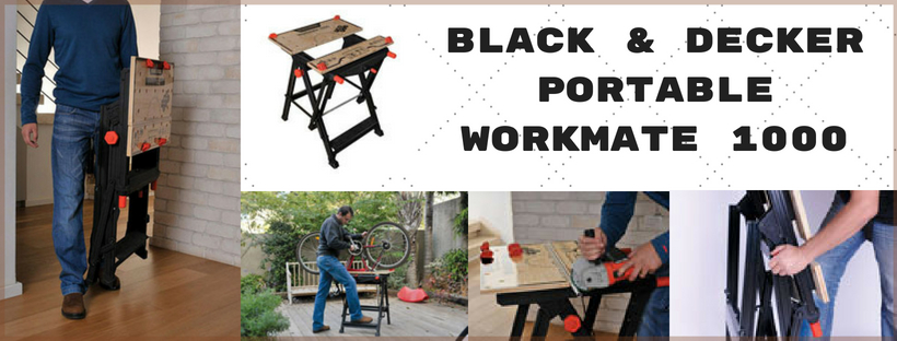 Black & Decker Portable Workmate 1000