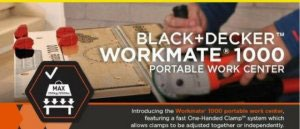 The Best Black & Decker Portable Workmate 1000 Workbench Reviews & Buying Guide [High Quality]