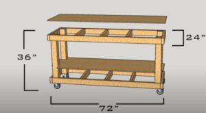 Diy Budget Friendly workbench