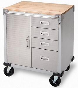 best Seville Classics UltraHD Rolling Storage Cabinet with Drawers Reviews