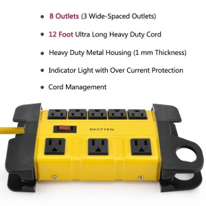 8 outlet power strip