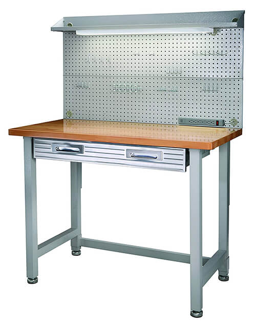 seville Classics (UHD20247B) UltraHD Lighted Workbench