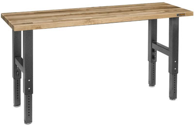 Gladiator-GAWB04MTZG-6-Feet-Adjustable-Height-Maple-Work-Bench-768x675