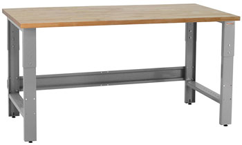 Roosevelt-Workbench-With-1.75-Solid-Olied-Maple-Butcher-Block-Top,
