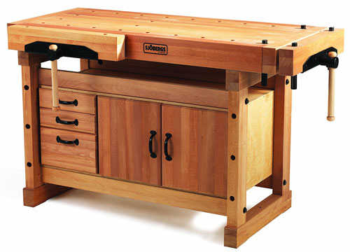 best-sjobergs-elite-woodworking-workbench-plus-cabinet-combo