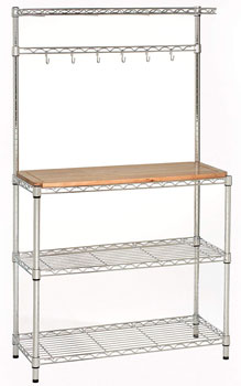 stainless-steel-work-table-with-shelves-with-wood-top