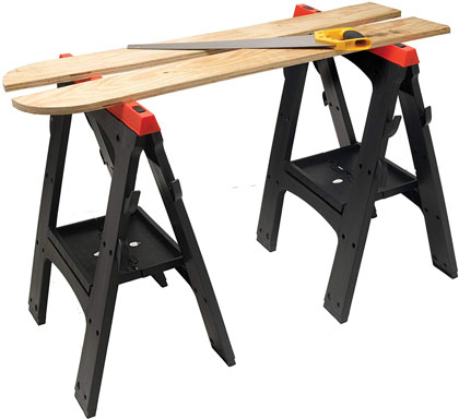 Performance-adjustable-height-sawhorse
