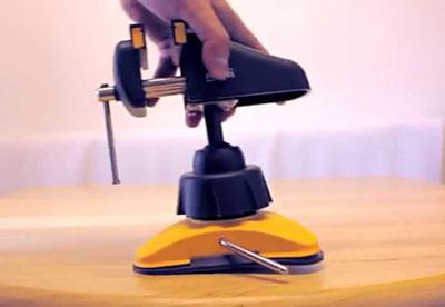 Vacuum-Vise