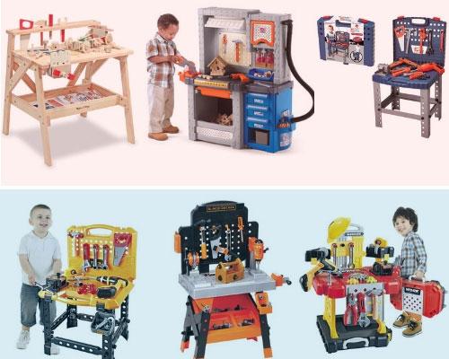 Toddler-Workbench