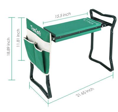 TomCare-Garden-Kneeler-Seat-Garden-Bench-Garden-Stools-Foldable-Stool-with-Tool-Bag