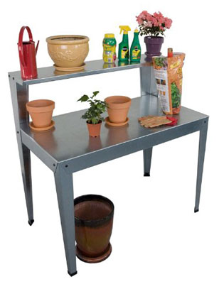 galvanized-potting-bench