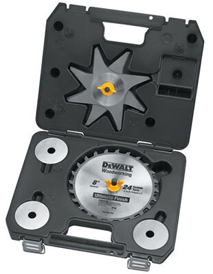 DEWALT tooth Stacked Dado Set