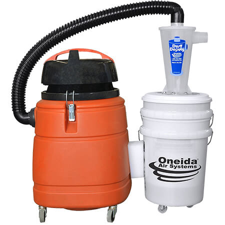 Dust Deputy Deluxe Anti-Static Cyclone Separator