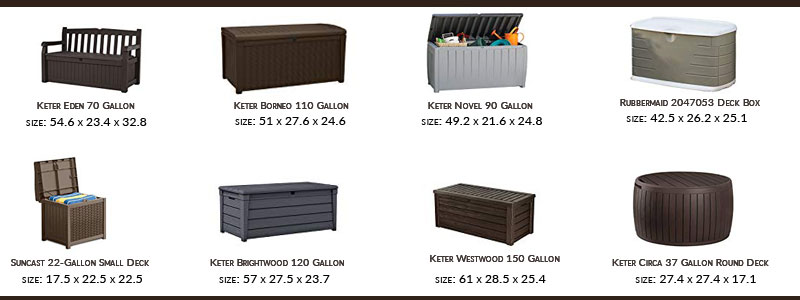 different-size-of-Outdoor-Storage-Bench