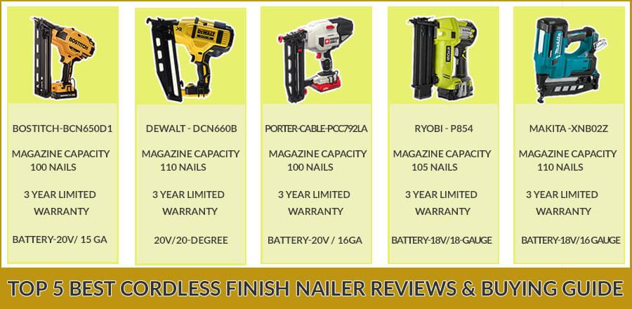 Best-Cordless-Finish-Nailer-Reviews