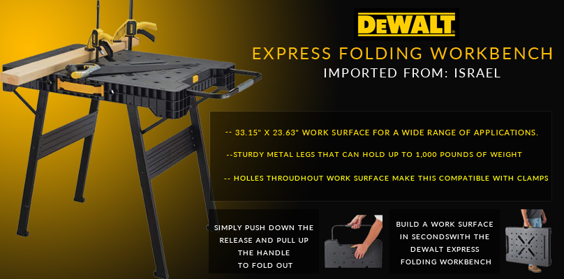 Dewalt Express Folding Workbench