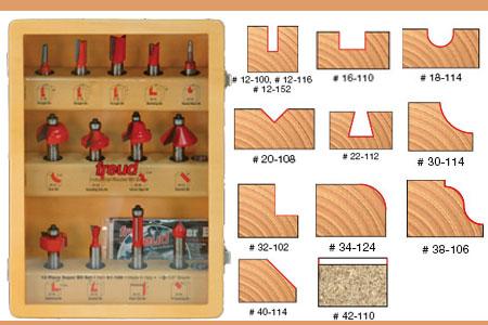 Freud-91-100-13-Piece-Super-Router-Bit-Set