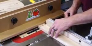Clear Out the Tenon Waste