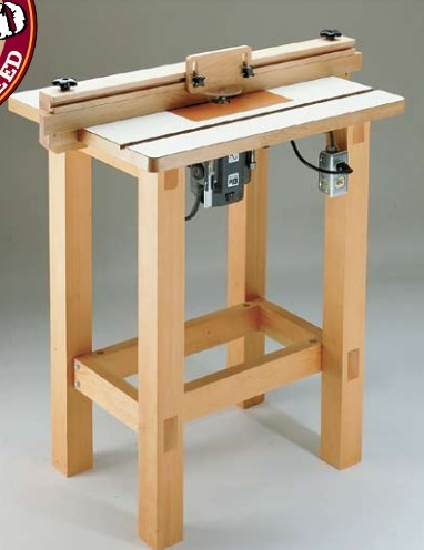 Router Table Plan (WoodSmith)