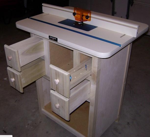 Scott's DIY Elegant Free Router Table Plans