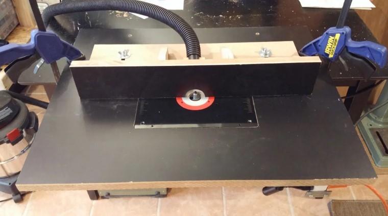 Chalk-Board Top DIY Router Table Tutorial
