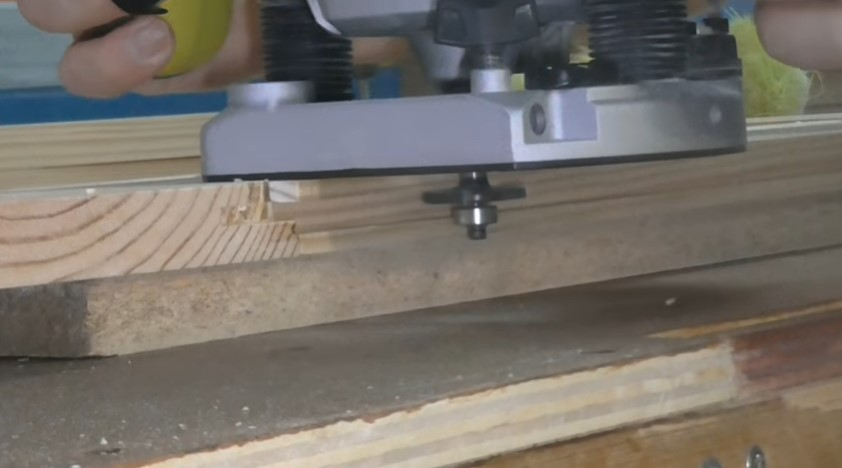 Groove cutting