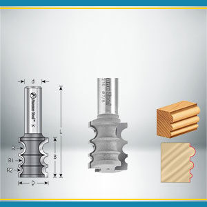 Variable Bead Router Bits