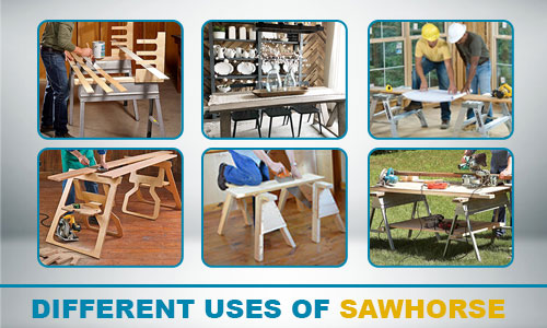 different uses of sawhorse