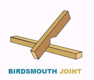 Birdsmouth-joint