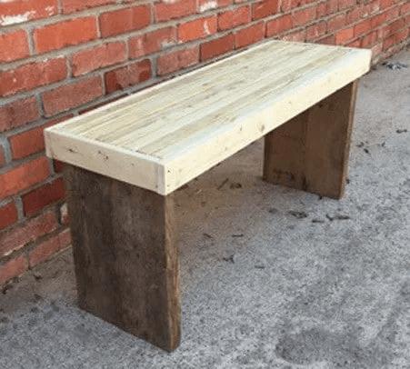 DIY $20 Dollar Beginner Wooden Bench